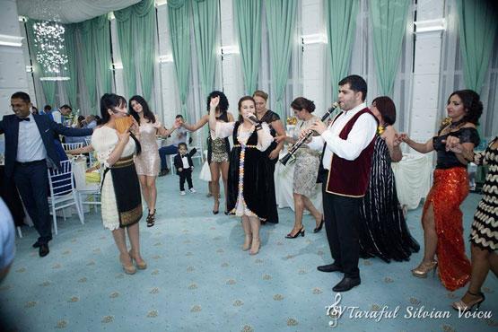 Taraful Silvian Voicu la nunta